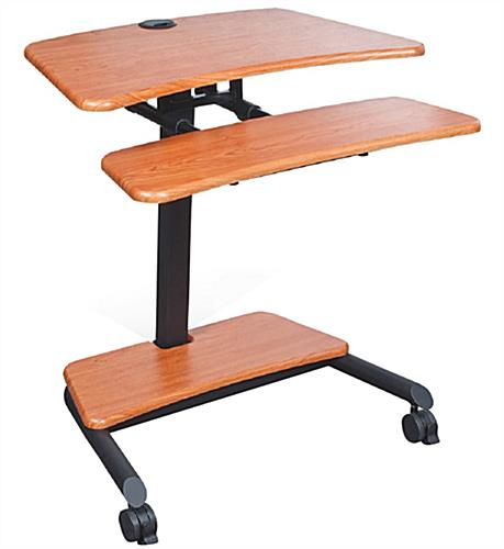 Adjustable Stand Up Laptop Desk