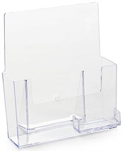 Magazine holder clear plastic design with business card display magazine holder with a business card pocket colourmoves