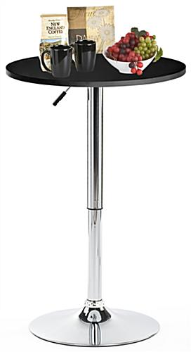 Hydraulic Bar Table for Trade Shows or Restaurants