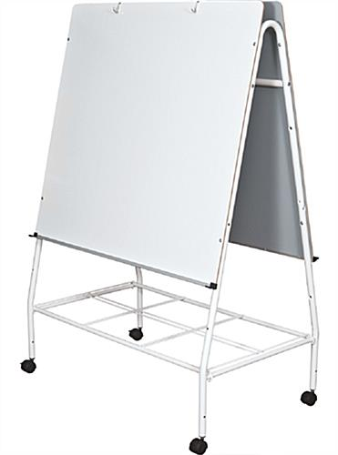 Mobile Lap Board Easel 6 Colorful Storage Tubs