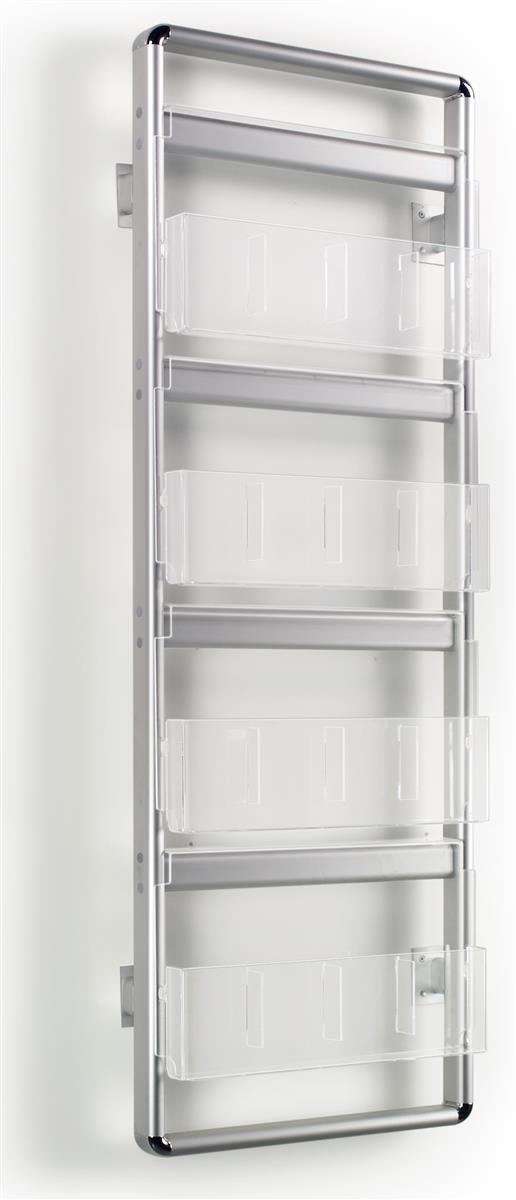 We Specialize In Magazine Racks Like This Aluminum Wall Rack