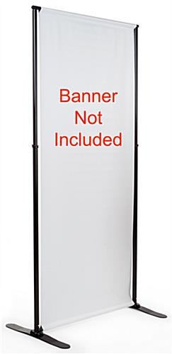 Telescopic Banner Stand Includes Hardware Only