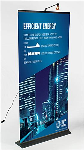 Economy Banner Stand Affordable Custom Trade Show Graphics