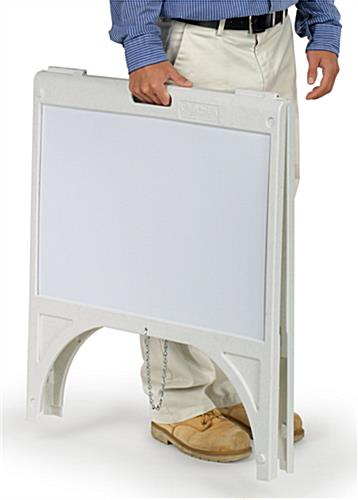 24 x 18 Sandwich Boards   A-Frame Style Coroplast Sign