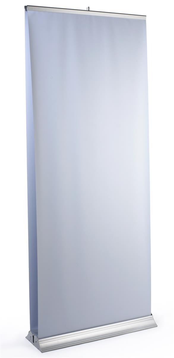 Displays2go Double-sided Retractable Banner Stand with (2...