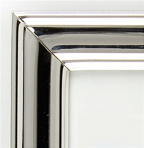 "Small Silver Picture Frames for 5"" x 7"" Prints"