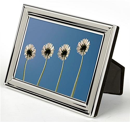 "4"" x 6"" Small Silver Picture Frames"