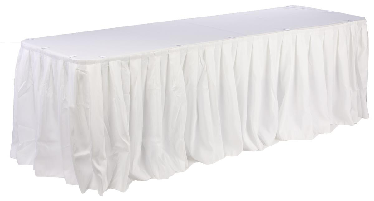 Table Cover With Skirting Table Top Amp Skirting For 6 Or