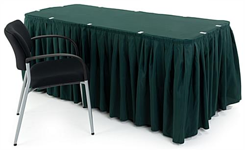 green table covers