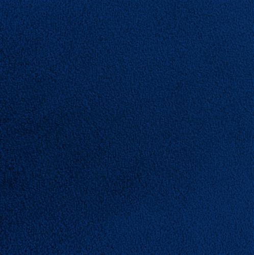 20' x 10' blue carpet for events with nylon fibers