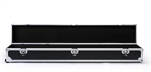6ft Booth accessory travel case offers plenty of storage