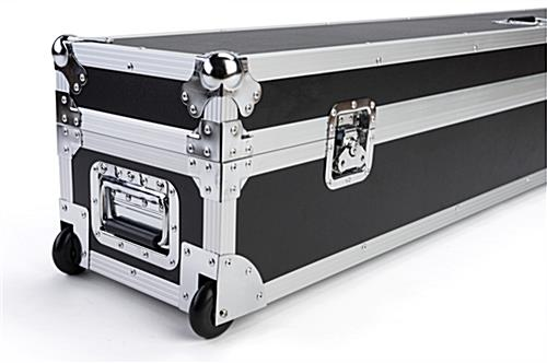 6ft Booth accessory travel case with heavy duty handle