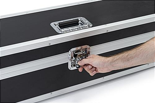 6ft Booth accessory travel case with easy-open latch