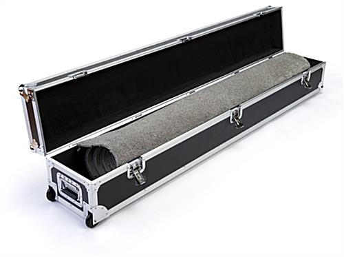 6ft Booth accessory travel case holds odd-shaped items