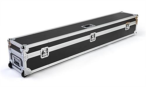 6ft Booth accessory travel case with hard panels