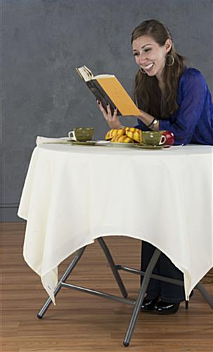 Folding Café Table Great for Restaurants