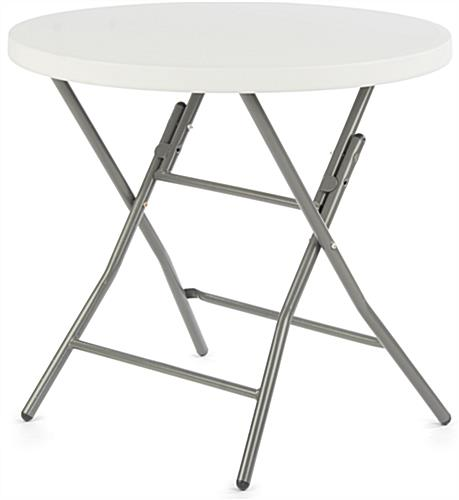 "Folding Café Table is 31.5"" Wide"