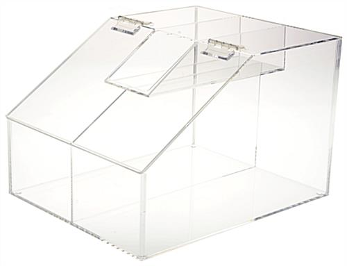 Bulk Food Storage ...  sc 1 st  Displays2go & Bulk Food Storage Bin - 2.5 Gallon Container for Countertops