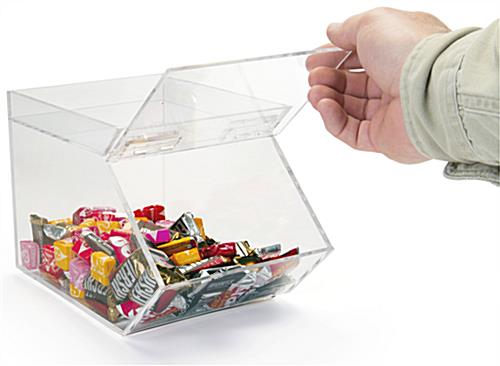 Shown Using Candy Container