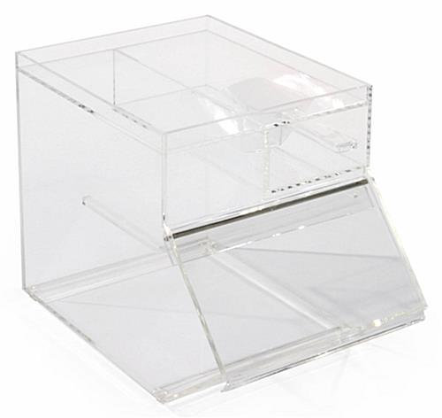 Scoop Slot Plastic Display Container