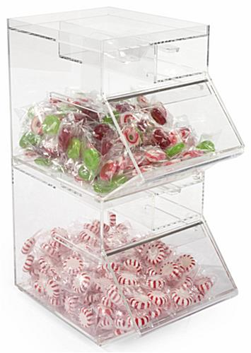 Countertop Plastic Candy Jar