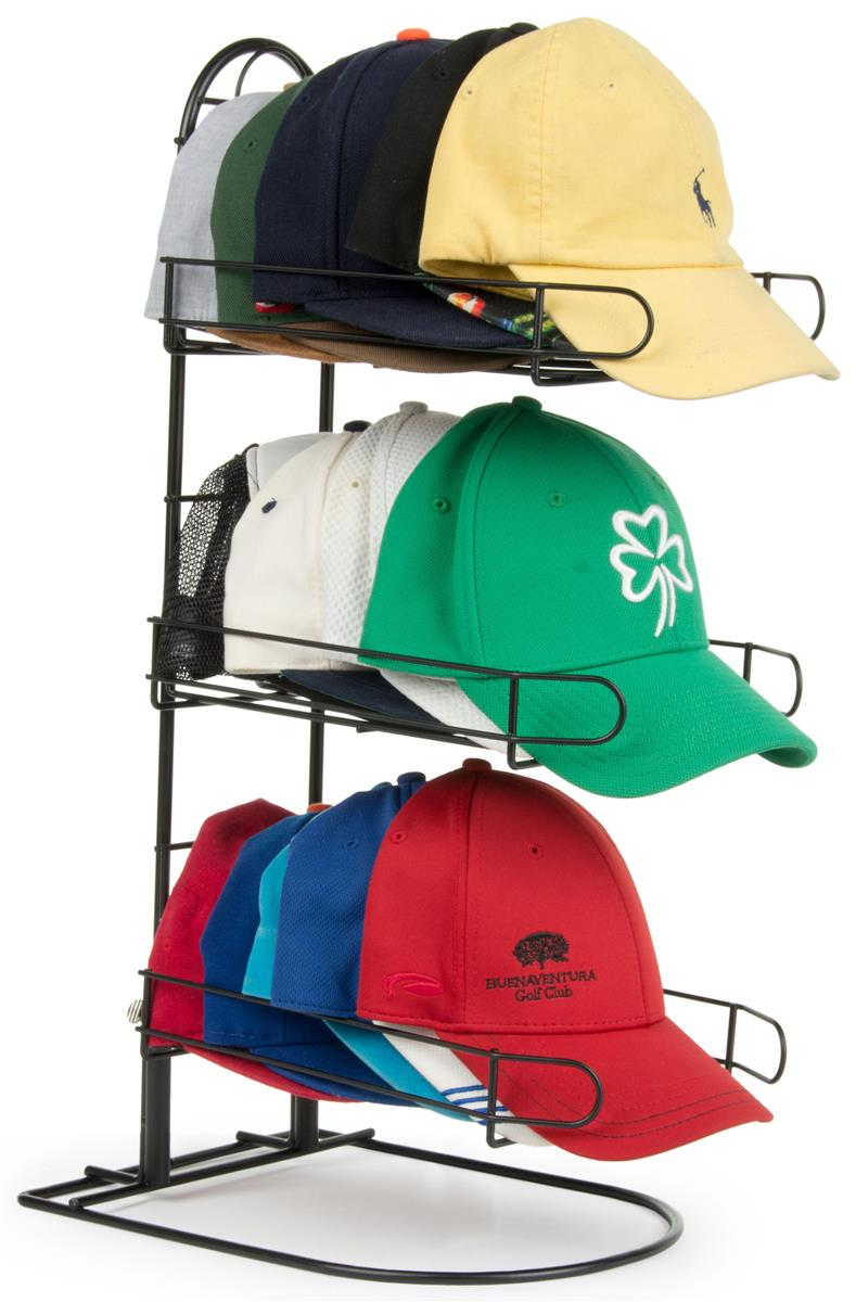 Retail Hat Rack Three Tier Countertop Display