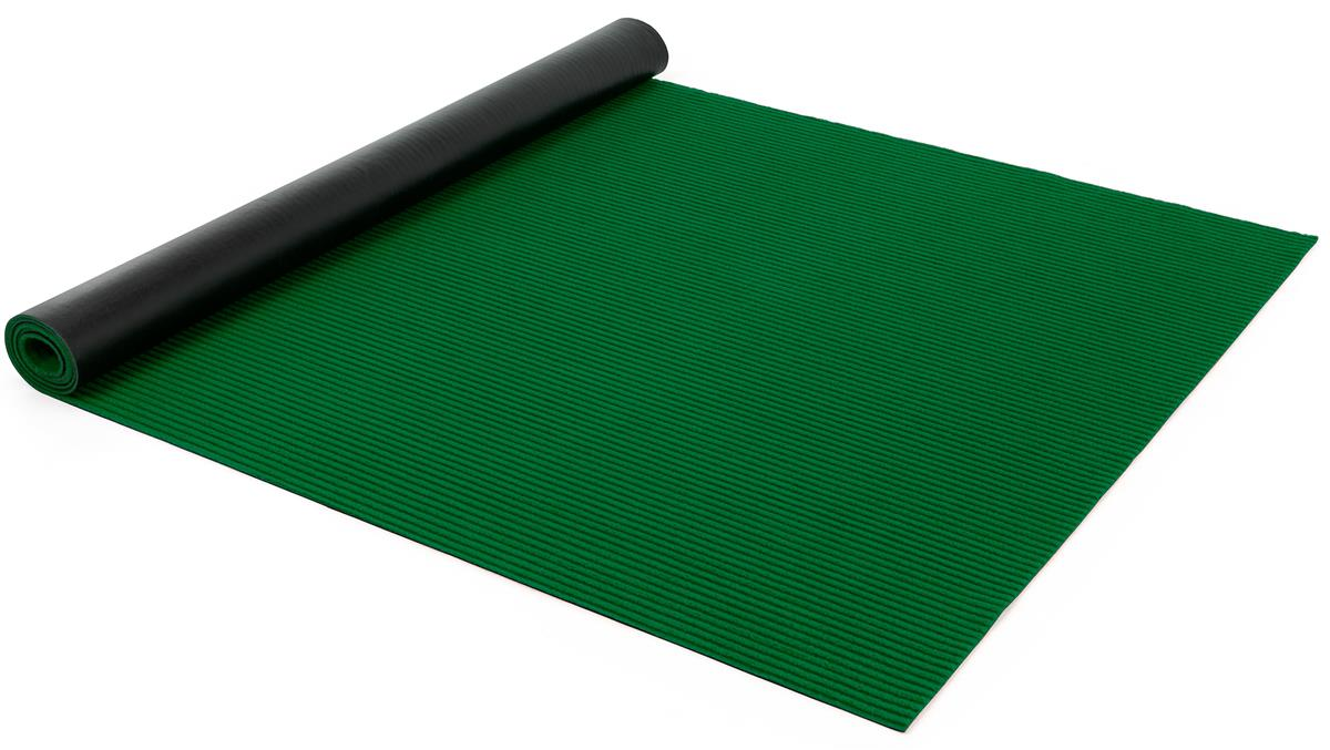 Green 20' rollable event runner