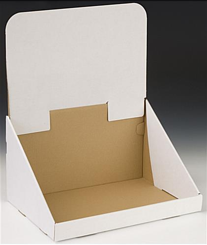 Cardboard POP Display For Counter Top Presentations