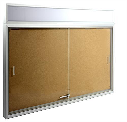4 X 3 Indoor Notice Boards Cork W Aluminum Frame