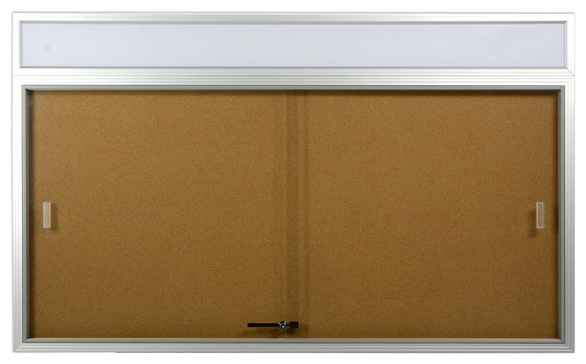5 39 x 3 39 enclosed notice board sliding glass door for 12 x 48 window