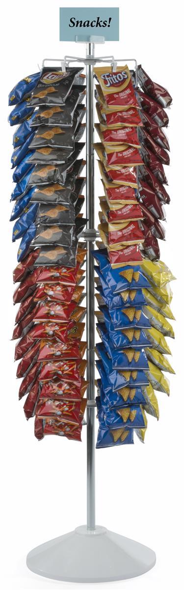 Snack Clip Rack Spinning