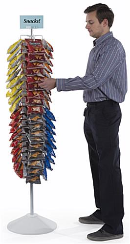 Tall Snack Rack Carousel