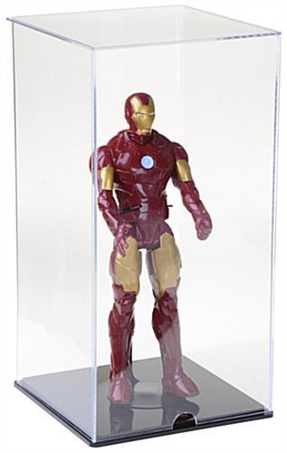 Acrylic Doll Display Case w/Action Figure