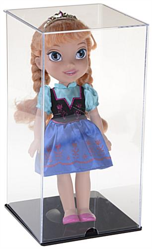 Acrylic Doll Display Case w/Doll