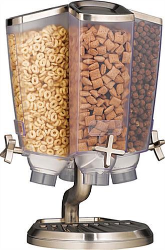 Rotating Cereal Dispenser 4 1 Gallon Cells