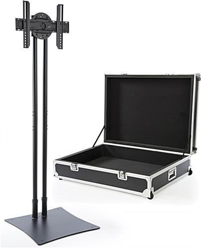Portable Expo TV Stand with Travel Case