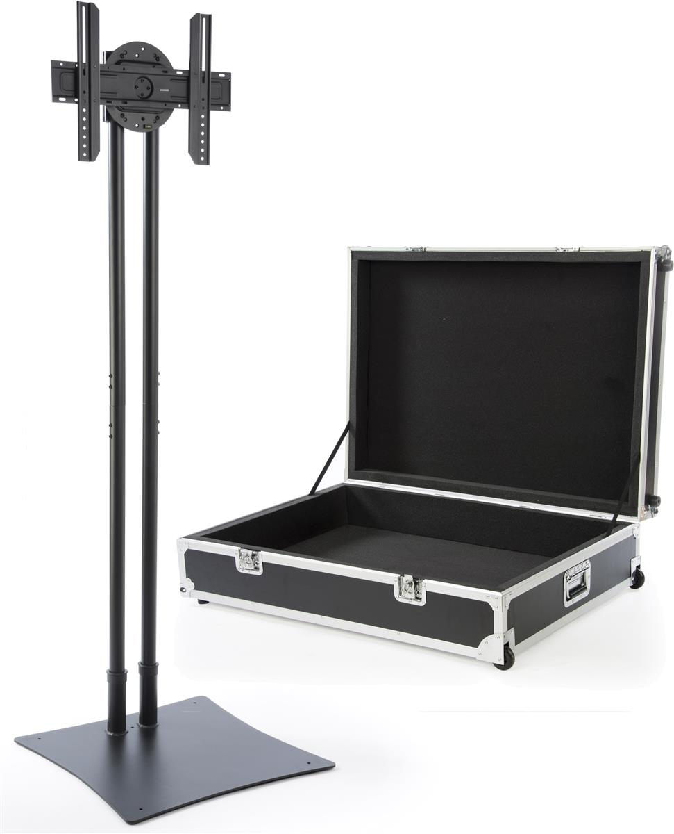 Portable Expo Stands : Expo tv stand rotating bracket