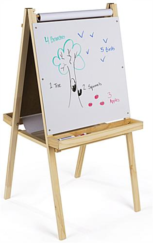 2 In 1 Easel with Three Art Choices