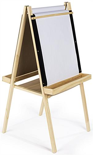2 In 1 Easel with Roll Down Paper