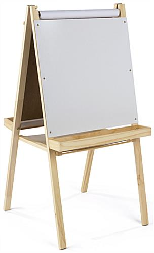 2 In 1 Easel with Wooden Frame