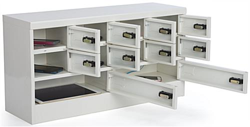 Mobile Device Locker with 10 Compartments