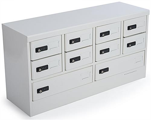 White Mobile Device Locker