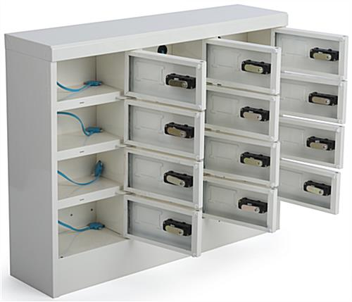 Cell Phone Charging Locker, 4 Tiers