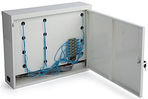 Cell Phone Charging Locker with USB Hub