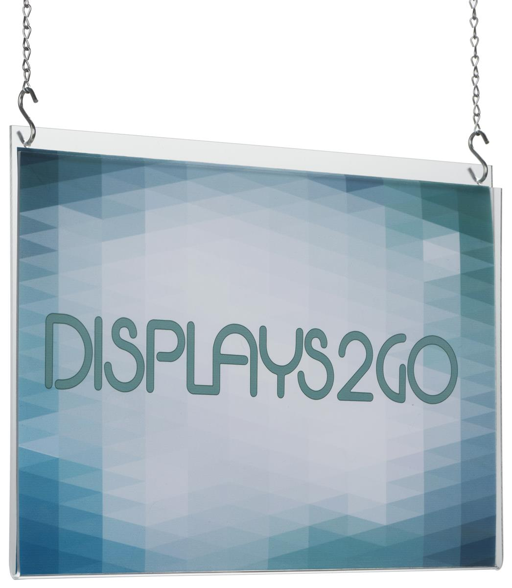 Acrylic Poster Hangers 17 X 11 Frame W Hanging Hardware