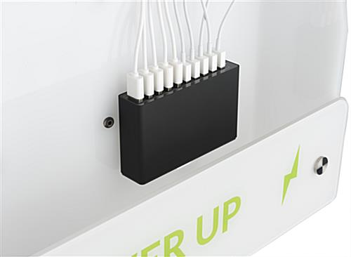 Mobile Phone Floor Charging Stand with Power Hub