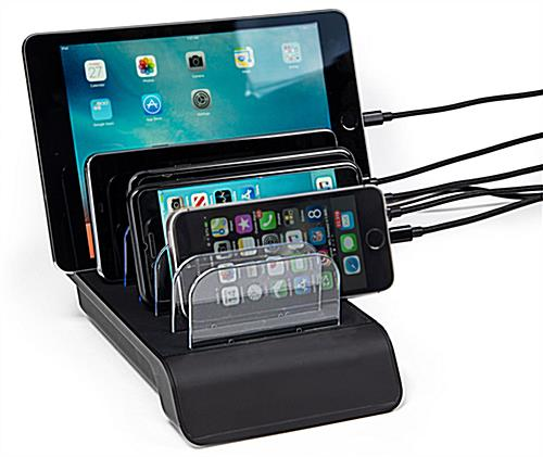 Decorative and practical 6 Port USB charging station
