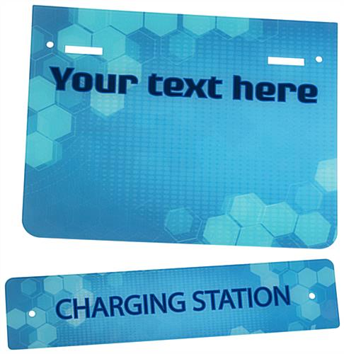 "Replacement ""Charging Station"" Graphic with Stock Artwork"