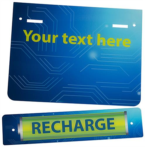 "Replacement ""Recharge"" Graphic with Stock Artwork"