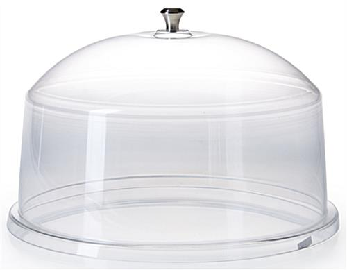 Cake Covers for Round Platters ...  sc 1 st  Displays2go & Cake Covers | Clear Acrylic Dome Lids